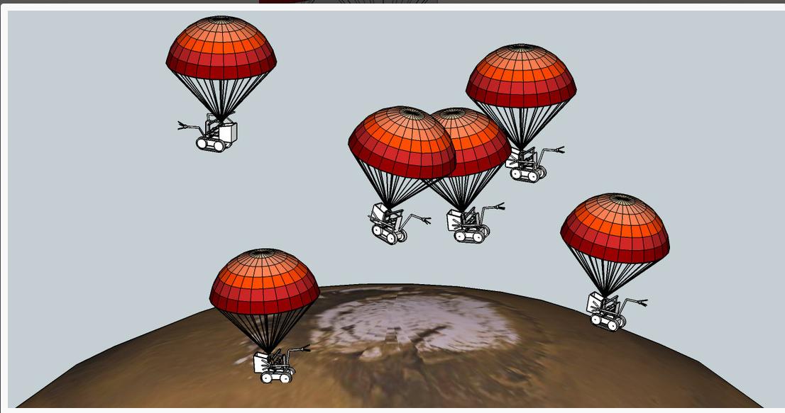 Wafate to Mars
